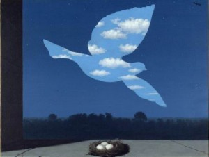 magritte-uccello