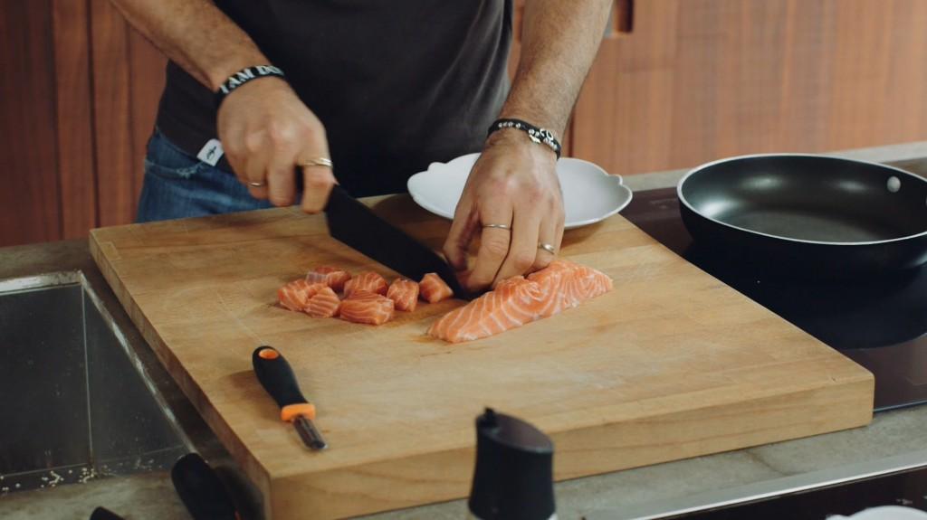 cubetti salmone