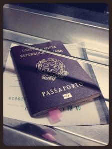 Passaporto con visto per la Cina
