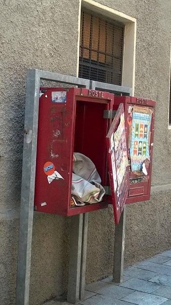 sacco posta Borgo Cocconi