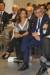 -Responsabile-del-Crédit-Agricole-in-Italia-Giampiero-Maioli-e-sua-moglie-Daniela al padiglione Cibus ad Expo