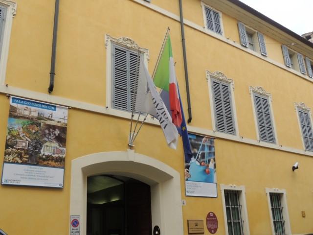 Palazzo Bossi Bocchi, sede di Fondazione Cariparma