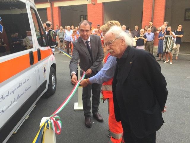 AP_inaugurazione ambulanza per Massimo Gentilucci