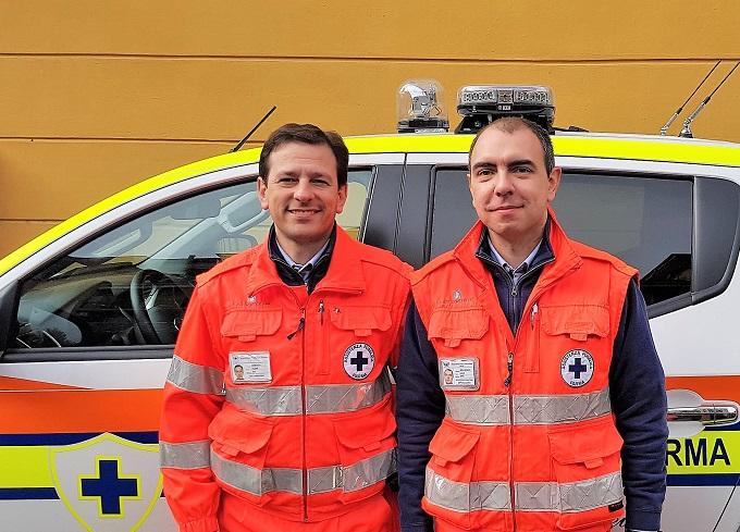 AP_da sx Comandante Filippo Mordacci e presidente Luca Bellingeri