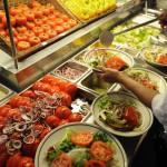 Fresh salads in Hamburg