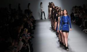David Koma - Runway - London Fashion Week AW 2015
