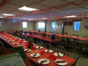Giorno 49 - pranzo di Natale in mensa