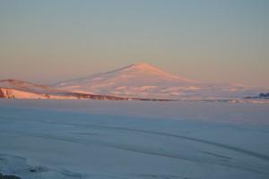 Monte melbourne vulcano