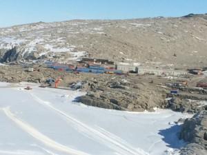 Vista della base Mario Zucchelli