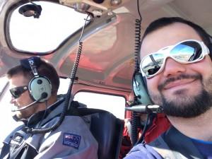 Giorno 53 - in elicottero verso l'interno antartico