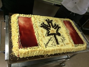 Giorno 62 - torta d'arrivederci
