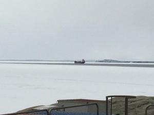 Giorno 75 - nave coreana all'orizzonte