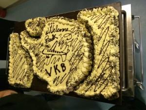 Giorno 83 - torta per i partenti