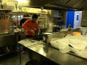 Giorno 98 - Antonio prepara la cena