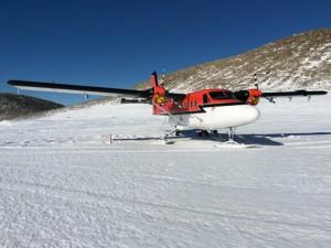 Giorno 99 - Il Twin Otter pronto per l'ultimo decollo