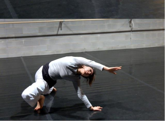 Anna Savanelli, una danzatrice udinese alla Biennale danza