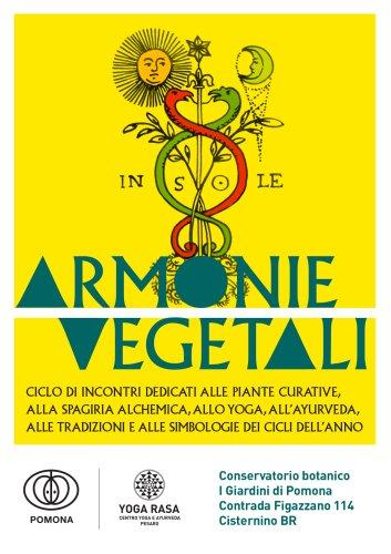 Armonie Vegetali cover