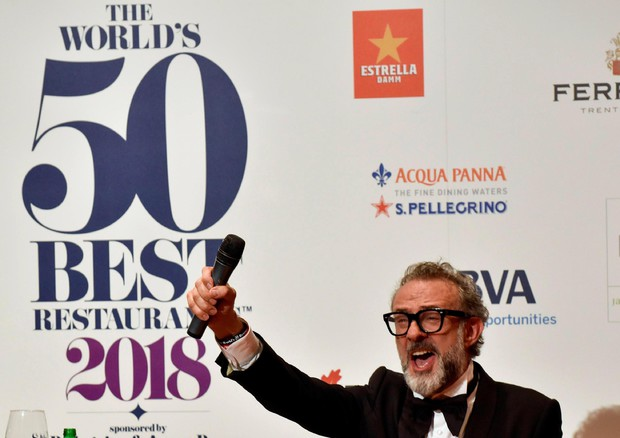 Massimo Bottura demonstrates his indifference to having the world's best restaurant