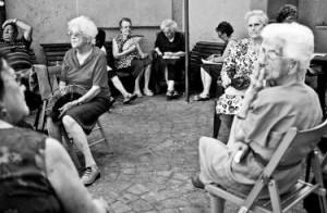 anziani al centro