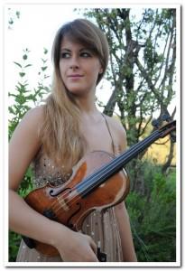 Francesca Dego fotografata da Grazia Lissi all'Amiata Piano Festival 2013