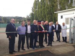 L'assessore all'Agricoltura della Regione Toscana, Marco Remaschi, inaugura il primo macello comunale per animali selvatici a San Miniato