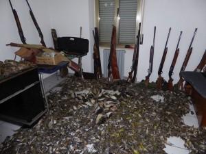 Più di tremila uccellini massacrati, fucili, munizioni e qiuattro arresti. E' il risultato di una brillante attività anti bracconaggio a opera dei Carabinieri Forestale di Cosenza.