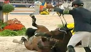 La morte dell'anziano (e ancora sfruttato ad alti livelli) stallone olandese Hickstead, avvenuta a Verona nel 2011, suscitò commozione, trattandosi di un campione molto famoso. Al pari di innumerevoli cavalli ignoti al grande pubblico, per Lassame Stare, stroncato forse da un infarto durante una gara amatoriale a Tortona, gli organizzatori del concorso e la giuria non hanno predisposto l'interruzione della gara e neppure un minuto di sospensione.