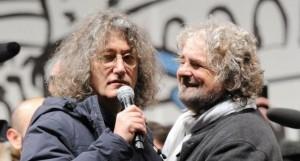 Casaleggio con Beppe Grillo