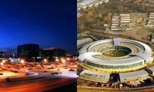 NSA and GCHQ headquarters