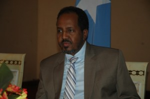 Il Presidente somalo Hannas Sheikh Mohamud