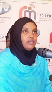 La giornalista uccisa Hindiyo Haji Mohamed