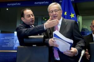 Gianni Pittella ed il Presidente della Commissione Europea Junker