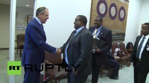 Lavrov accoglie Sharmarke a Mosca