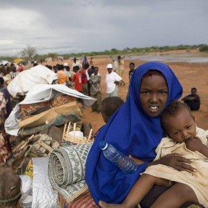 La partenza dei profughi da Dadaab