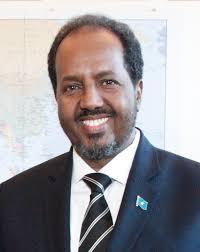 Hassan Sheikh Mohamud, Presidente uscente della Repubblica Federale di Somalia e nuovamente candidato alla carica