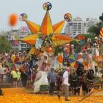 Battaglia dei fiori, Valencia, allegria e colore