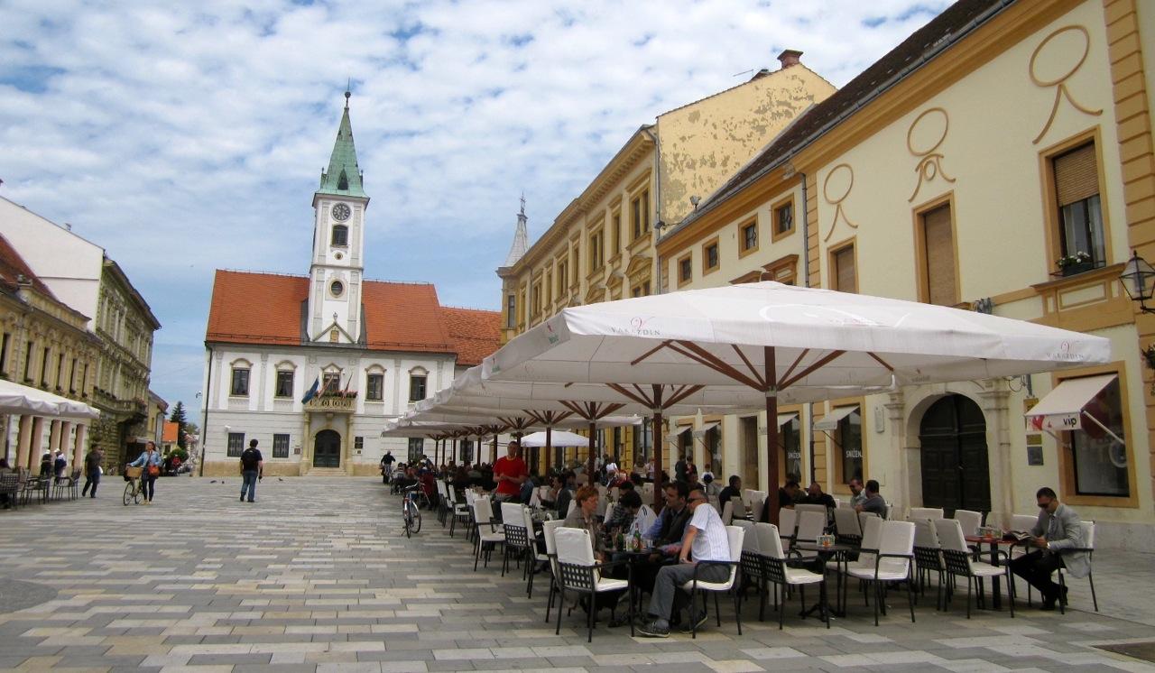 Piazza Varazdin, Croazia