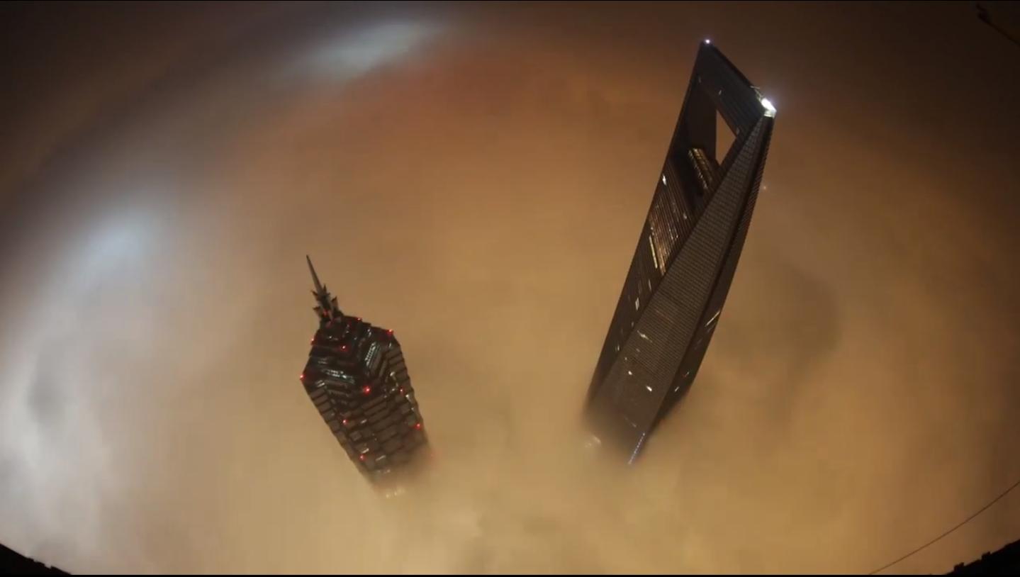 al di là della nebbia, Shanghai Tower