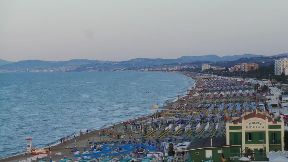 Il litorale marchigiano di Senigallia