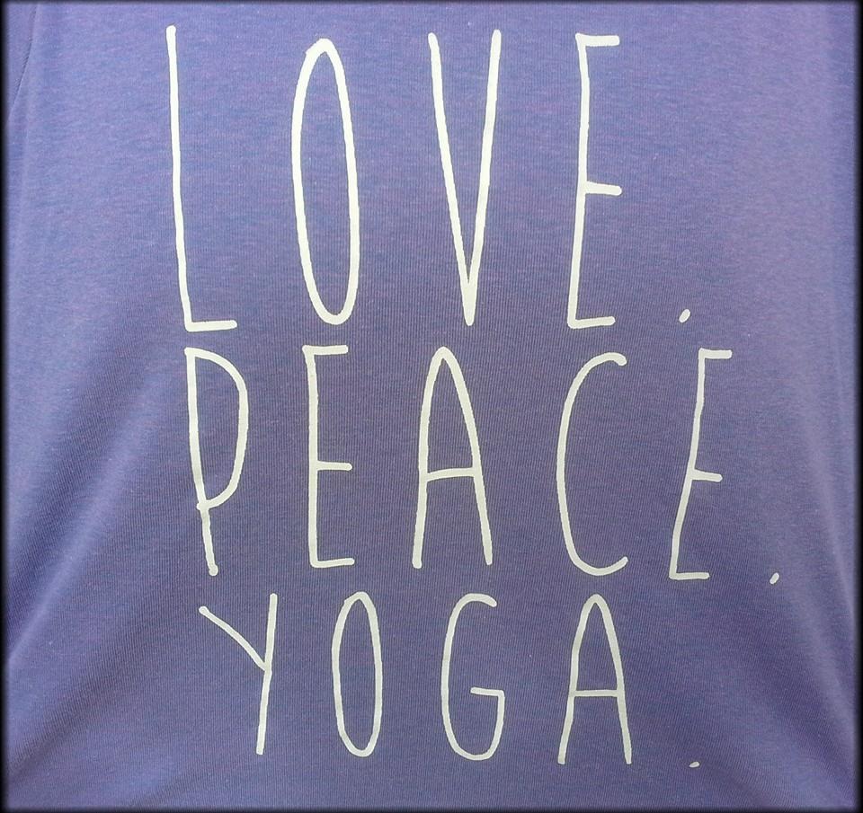love peace yoga