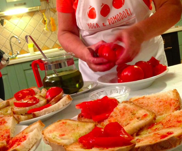 Corsi di cucina a yoga & pomodori