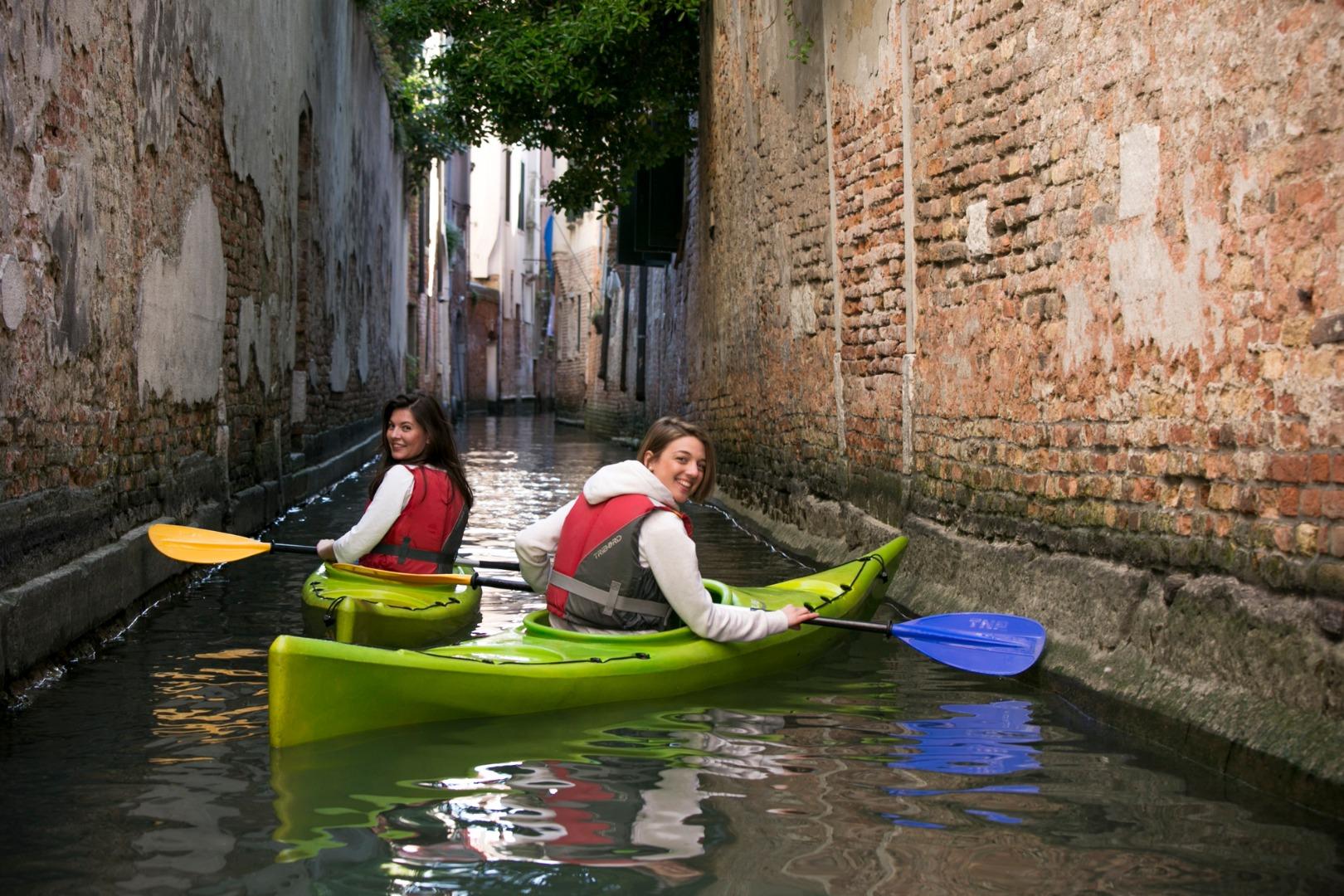 Una delle tante attività lagunari proposte a Venezia dal portale VivoVenetia