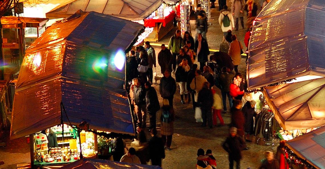 mercatino natalizio di Trento