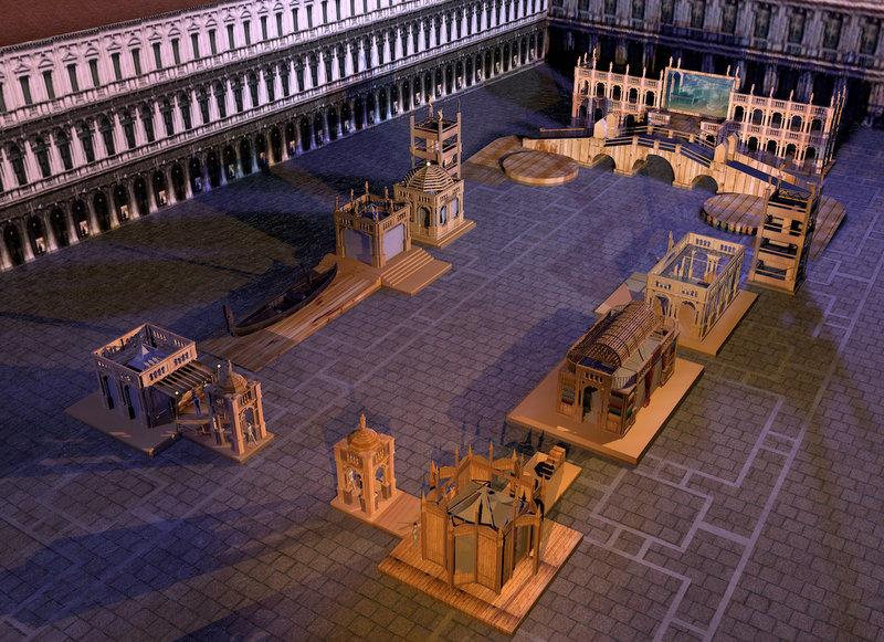 villaggiomeraviglie la machina di piazza san marco carnevale di venezia