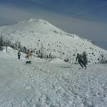 Uno scialpinista sul Nevoso, Sneznik