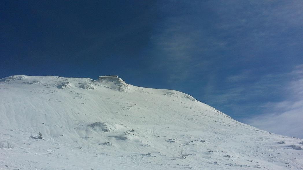 La cima del Monte Nevoso. Foto di Cristina Favento@