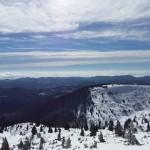 Vista dal rifugio sul Nevoso, Sneznik