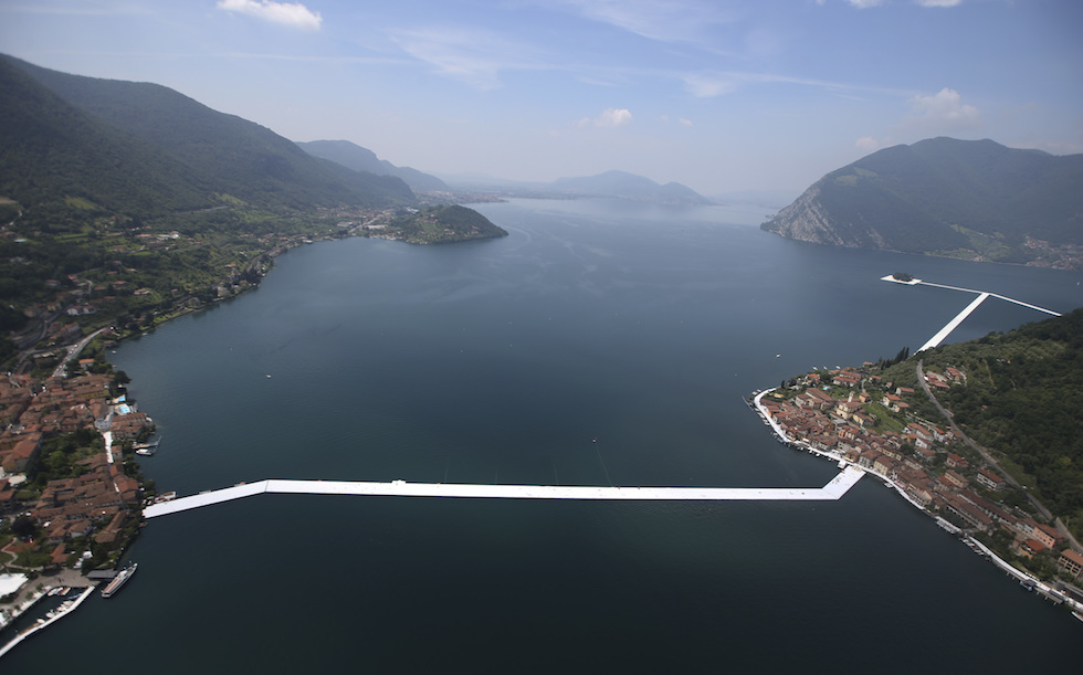 Italy Christo Floating Piers