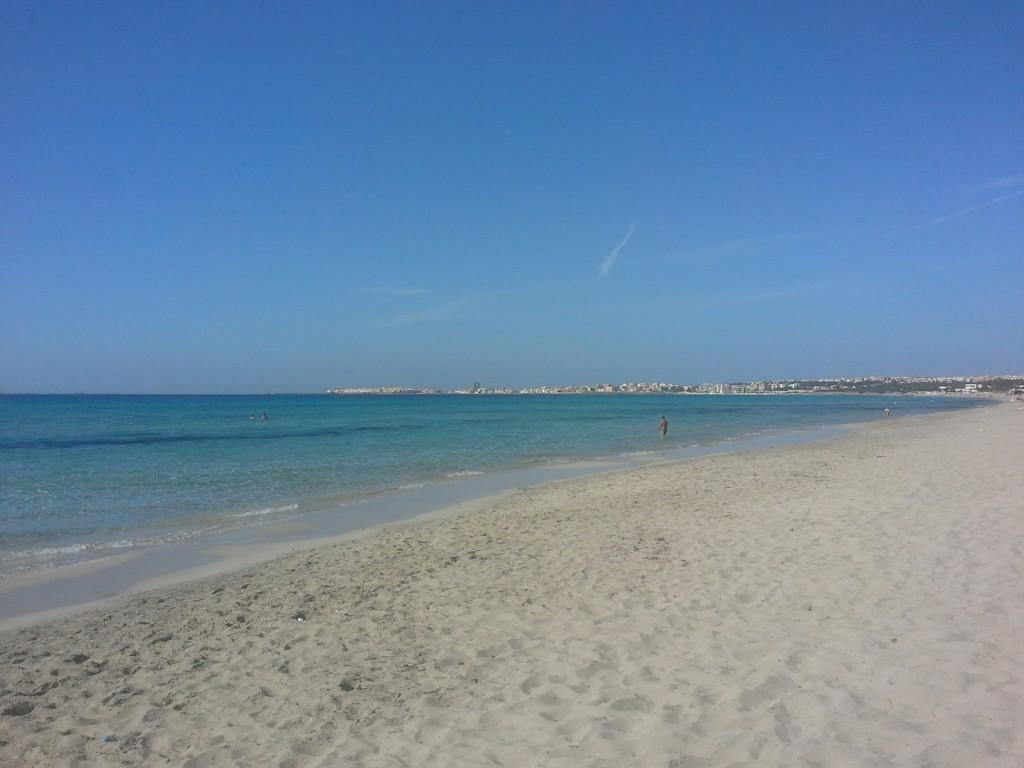spiaggia di gallipoli foto di cristina favento©