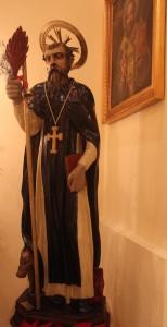 Statua di  Sant'Antonio Abate
